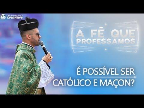 É possível ser Católico e Maçon? - Pe. Adão  A fé que professamos #06
