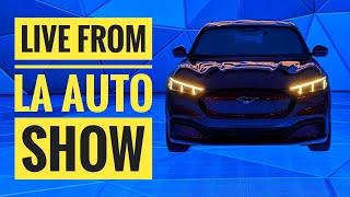 LIVE: Electric Cars at the LA Auto Show