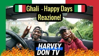 Ghali   Happy Days (Prod. Charlie Charles) Freestyle And Reazione