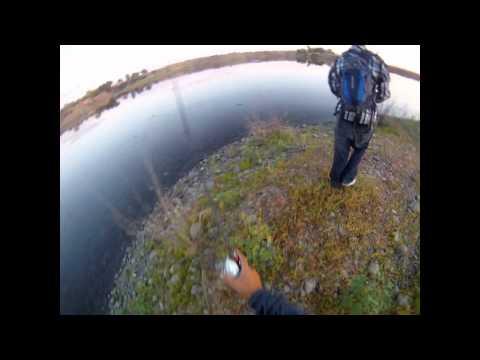 Local pond bass fishing again – 8/12/12