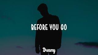 Lewis Capaldi   Before You Go (Lyrics)