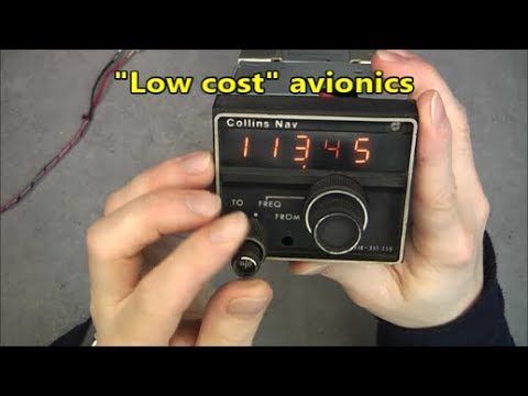 Collins VIR-351 NAV receiver teardown