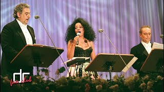 Diana Ross with Placido Domingo and Jose Carreras - Movie Medley (Osaka 1997)