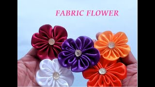 How To Make A Beautiful Fabric Flower