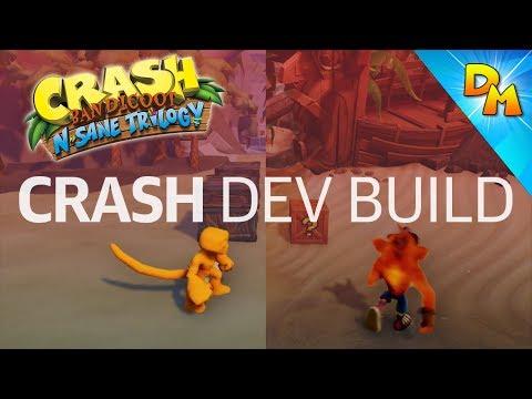 how to break the bridge in crash bandicoot