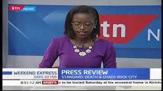 5 Dead in chaos from Raila Odinga returns