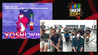 SSC 2017 - Isai (12 Characters) Vs. Prince (12 Yoshis) SSB64 Exhibition Match - dooclip.me