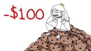 BREAKING $100 WORTH OF COOKIES (Roommate Stories)