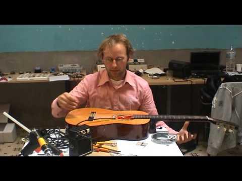 Tutorial: low-cost piëzo contactmicrofoon om akoestische gitaar te versterken