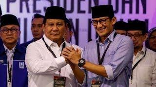 Survei Pilpres 2019: Prabowo Sandi Unggul di Emak-emak dan Milenial, Posisi Jokowi-Ma'ruf Terancam