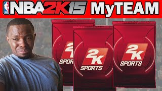 NBA 2K15 MyTeam Pack Opening - GLASS CLEANER PACKS - NBA 2K15 MyTeam Packs