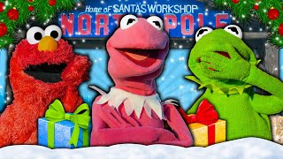 Kermit the Frog gets a NEW Girlfriend from Santa Claus! (Miss Piggy wasn't happy)