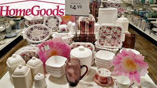 HomeGoods SHOP WITH ME NEW FLORAL GOLD KITCHENWARE HOME KITCHEN IDEAS WALK THROUGH MAY 2018