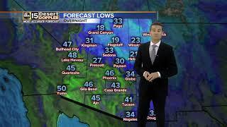 Warm weather returns Monday
