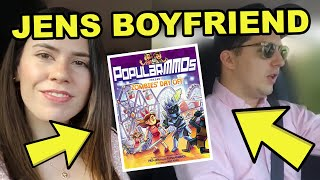 JEN And HER BOYFRIEND Buy Our NEW BOOK! (A Zombies' Day Off)