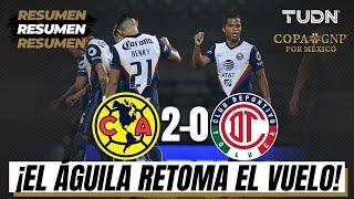 América y Toluca disputan su primer partido de la Copa GNP por México, donde las águilas derrotaron a los diablos de forma contundente.  Síguenos en nuestras redes sociales:  https://www.facebook.com//tudnmex/ https://www.instagram.com/tudnmex/ https://twitter.com/TUDNMEX  Sitio Web: https://www.tudn.mx/  TUDN México te ofrece la cobertura más completa del mundo deportivo con lo mejor del fútbol mexicano, eventos internacionales, las grandes personalidades del deporte y mucho más.