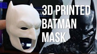 The Ultimate 3D Printed Batman Mask - Replica Prop Part 1