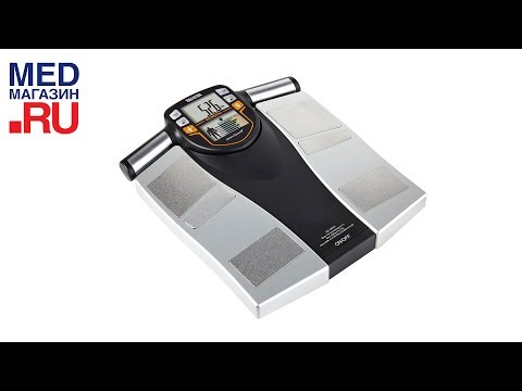 Promovideo: Osobní váha Tanita BC-545N se segmentální tělesnou analýzou