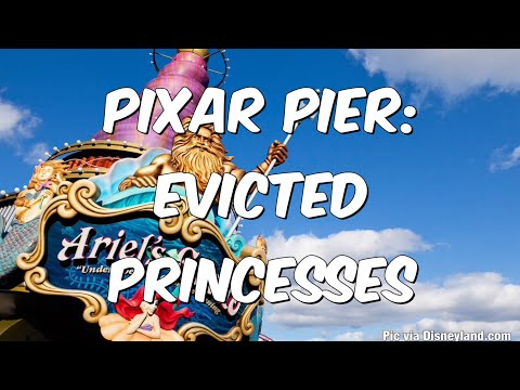 Pixar Pier: Princesses Being Evicted