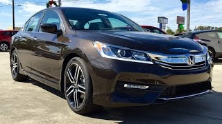2016 Honda Accord SPORT Full Review / Start Up / Exhaust
