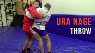 "Throw ""zashagivanie"" stepping around in Sambo or Ura Nage in Judo. How to do it correctly"