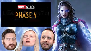 Marvel Phase 4 Is Starting Too Soon - Movie Podcast