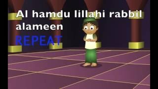 Learn Al Fatiha For Salah (Qiyam) for Kids/Beginners