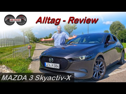 MAZDA 3 Skyactiv-X M Hybrid 2020 - Meine Wahl in der Kompaktklasse | Test - Review - Alltag