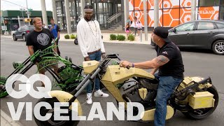 2 Chainz Checks Out Crazy Expensive Motorcycles | Most Expensivest BONUS | VICELAND & GQ
