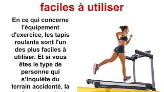Tapis roulant - Fitness A Rabais