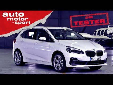 BMW 218d Active Tourer: Kann ein Van ein echter BMW sein? – Test/Review | auto motor und sport