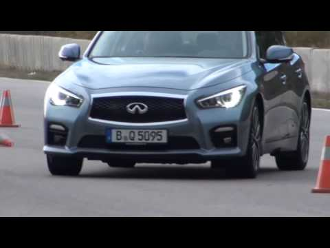 New Infiniti Q50 driving shots with automated lane assist - Autogefühl Autoblog