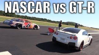 NASCAR takes on a GT-R, Porsche, Roush Mustang | Kholo.pk