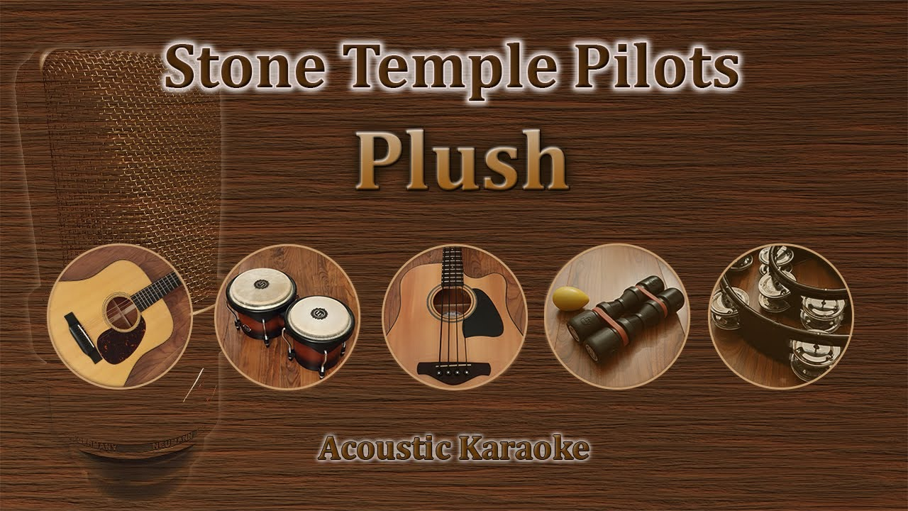 Plush - Stone Temple Pilots (Acoustic Karaoke) - YouTube