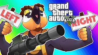 GTA5 Online Funny Moments - Target Assault Gamemode!