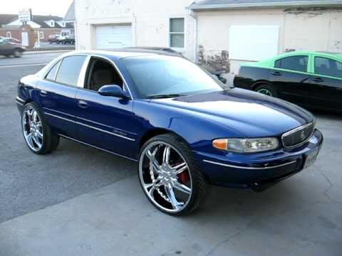 "26""RIMS ON BUICK CENTURY / JOHNS RESTORATION"