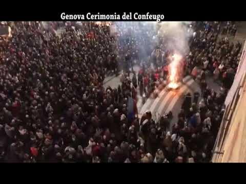 GENOVA : CERIMONIA DEL CONFEUGO