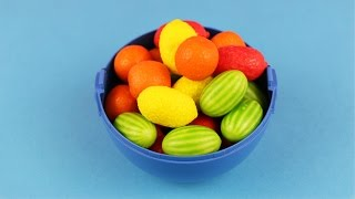 Learn Colours and to Count With Candy Fruit! Fun Learning Contest!