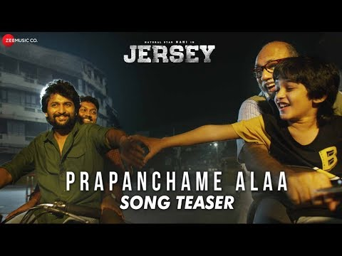 Prapanchame Alaa - Song Teaser | Jersey | Nani & Shraddha Srinath | Anirudh Ravichander