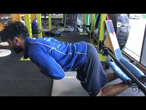 How to do an Inverse Leg Curl in the Gym #AlternativeWorkout