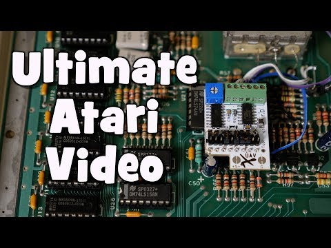 Ultimate Atari Video board for Atari 8 bit consoles and computers (UAV rev D install)