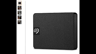 Seagate Expansion SSD 1TB Solid State Drive  (STJD1000400) Review