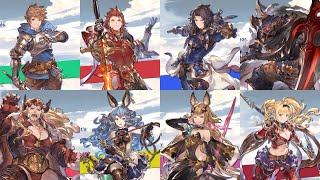 Granblue Fantasy Versus All Character Reveals And Gameplay Trailers