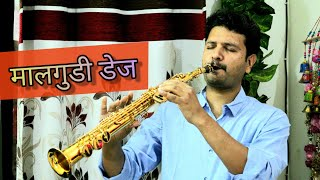 Malgudi Days Tune- Soprano Saxophone- The Golden Notes-Sachin Jain - Download this Video in MP3, M4A, WEBM, MP4, 3GP