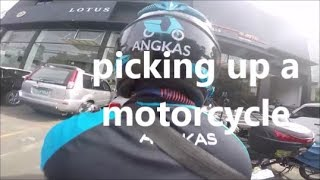 ANGKAS FIRST EXPERIENCE | PICKING UP A UM MOTORCYCLE