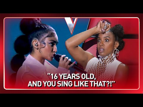 16-Year-Old SHOCKS everyone with her UNIQUE sound in The Voice