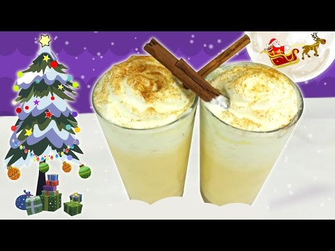 Video How to Make Eggnog (Non-alcoholic) | Quick and Easy Christmas Recipe | DIY Holiday Treats