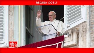 Regina-Coeli-Gebet 23. Mai 2021 Papst Franziskus