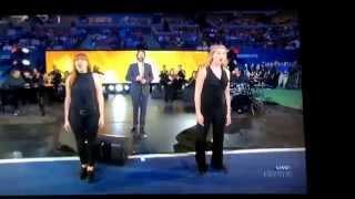 Josh Groban US Open Opening Ceremony 8/31/15
