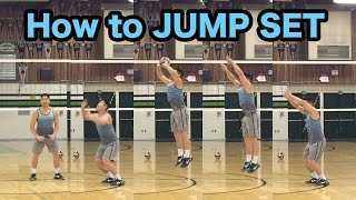 JUMP Set Technique - How to SET a Volleyball Tutorial (part 5/5)